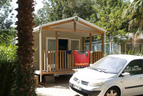4-person mobile home rental